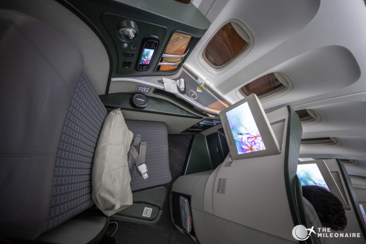 eva air royal laurel seat