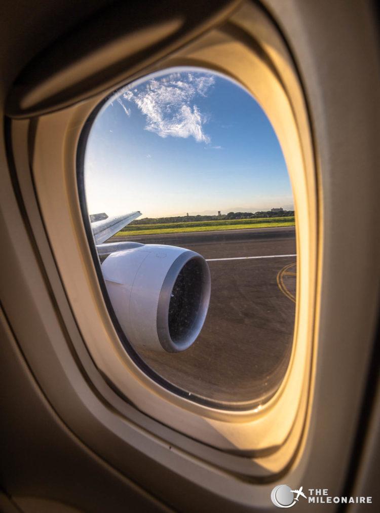 eva air window view
