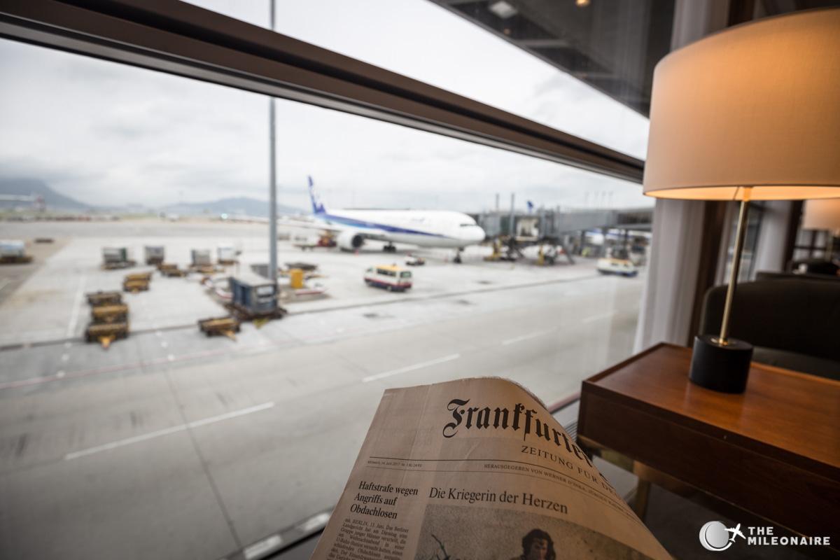 newspaper plane lounge
