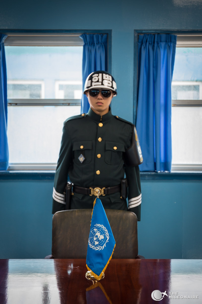 flag dmz north korea
