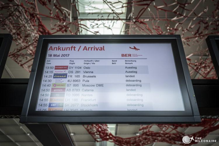 flights ber airport