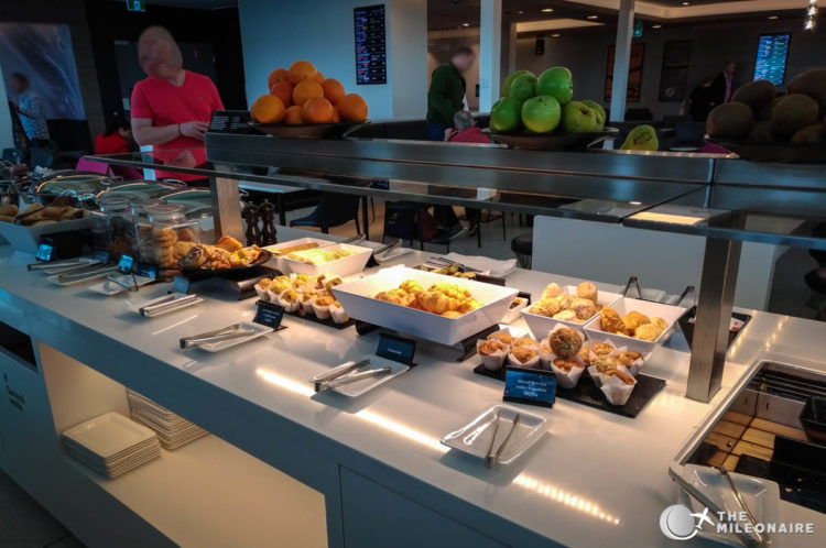food air new zealand lounge brisbane