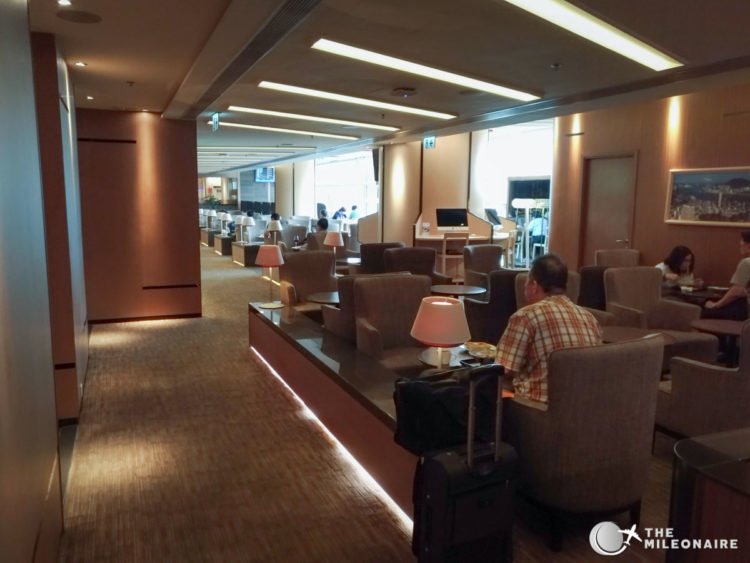 hong kong airlines lounge
