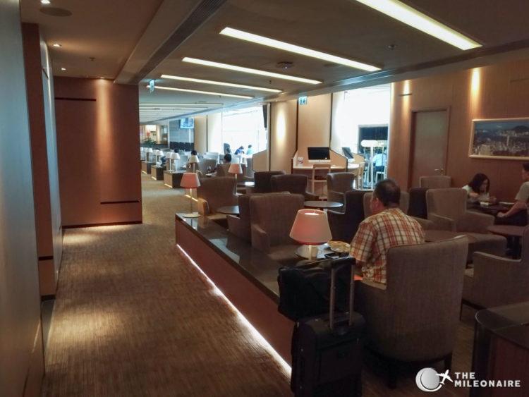 hong kong airlines lounge
