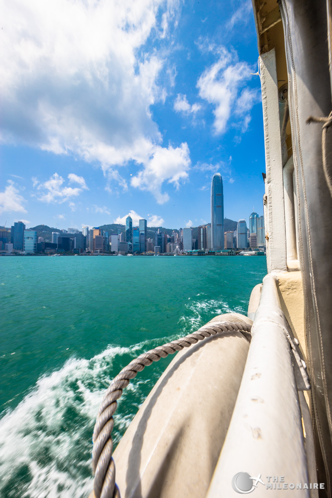 hong kong star ferry ride