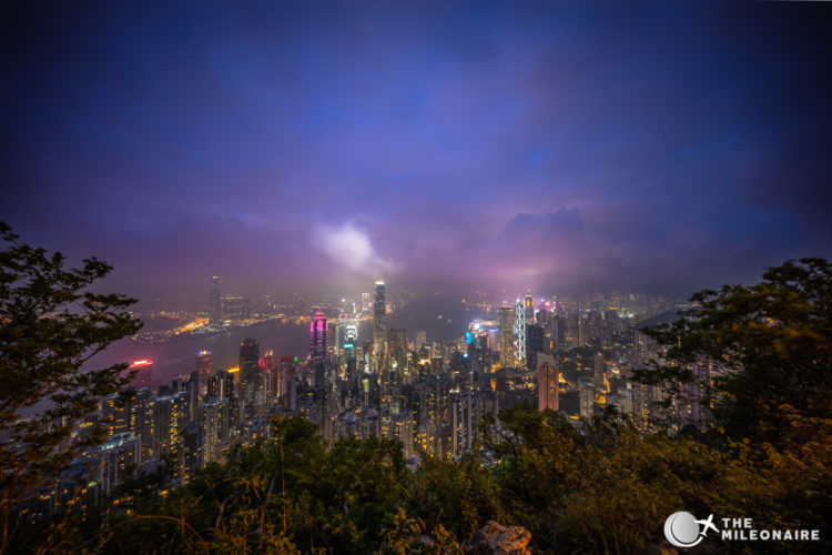 hong kong view night