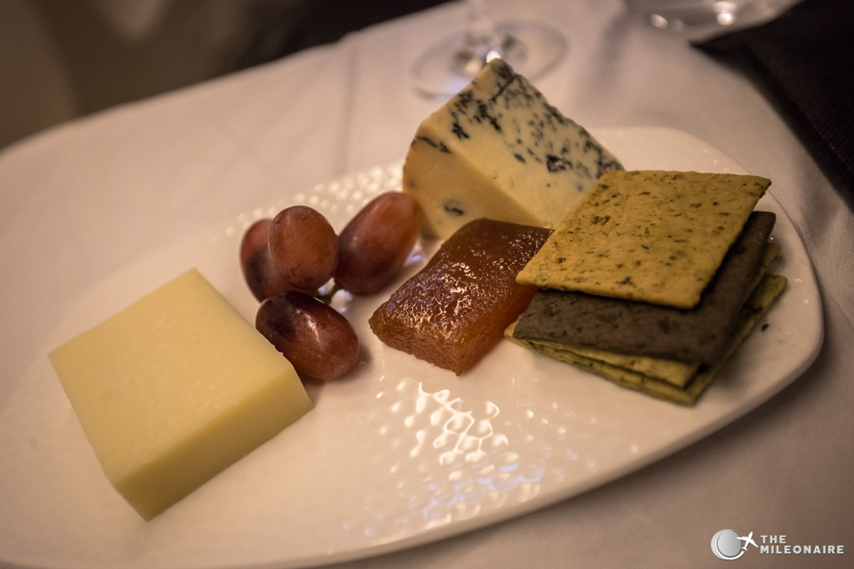 cheese etihad business class
