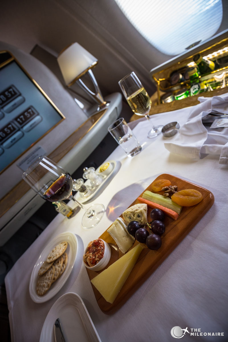 cheese plate emirates first