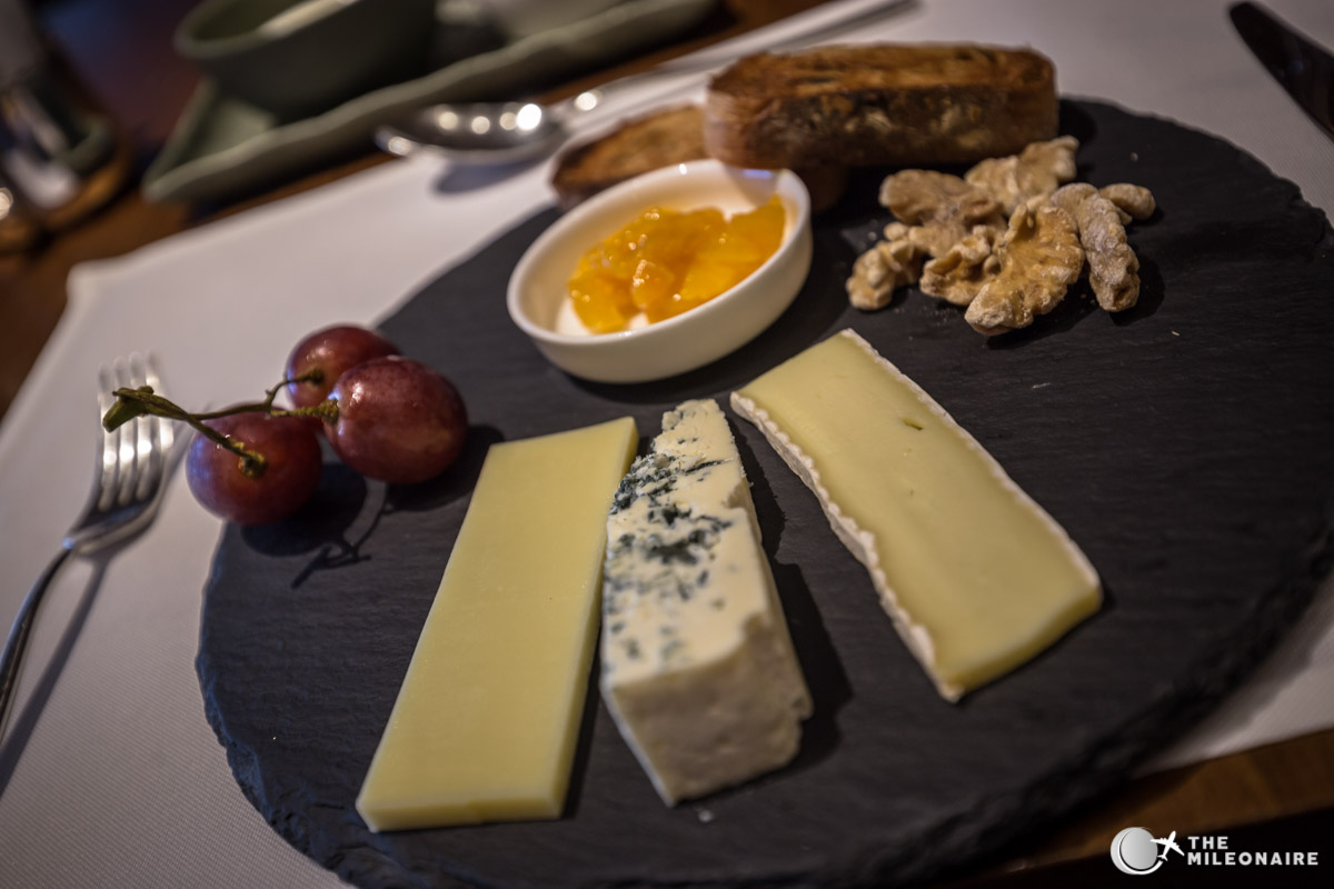 cheese plate the pier first class lounge