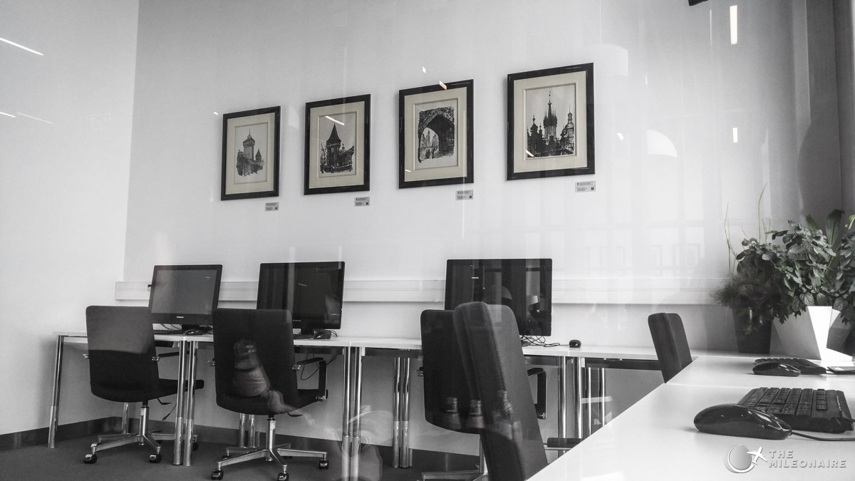 krakau business lounge business center