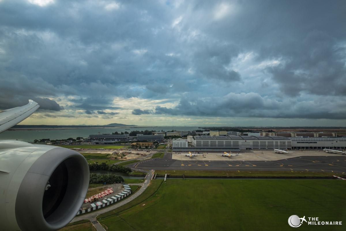 landing in singapur