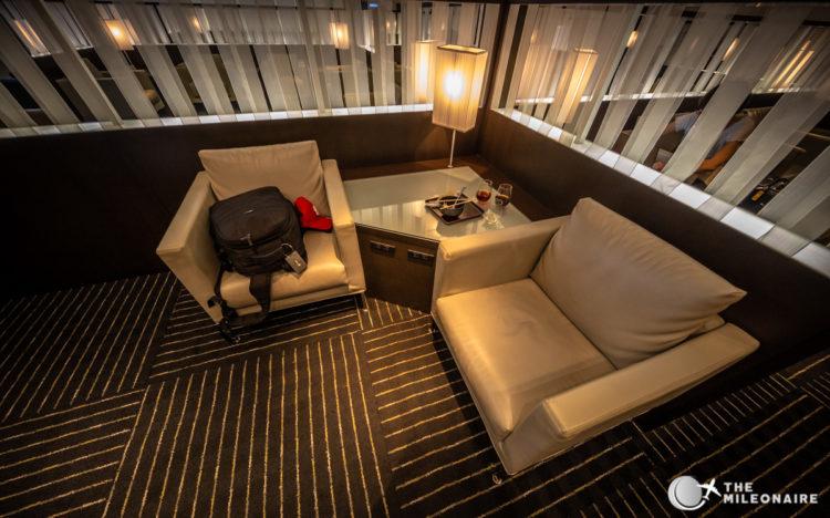 lounge seats ana tokyo
