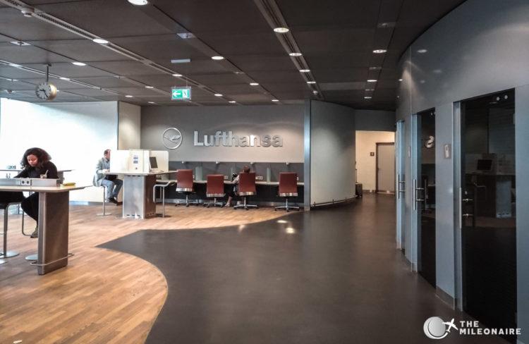 lufthansa business center fra
