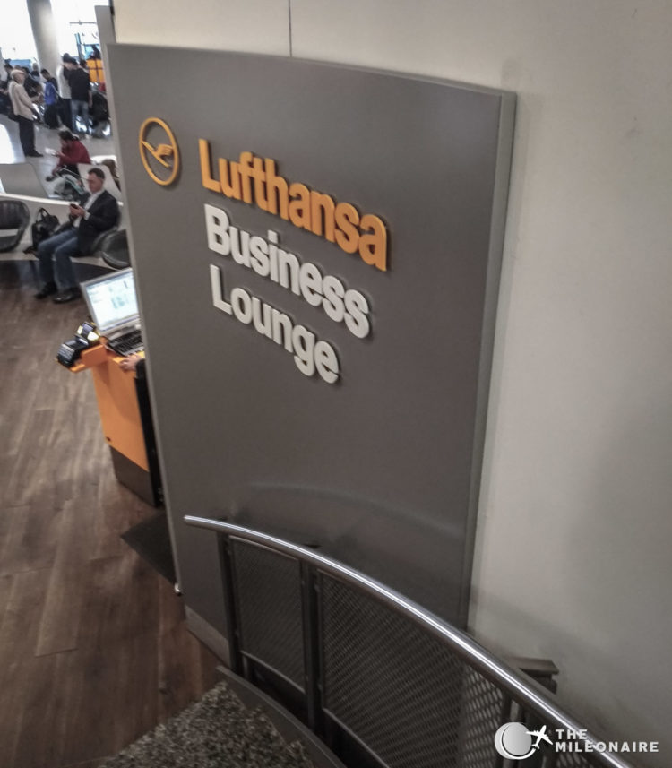 lufthansa business lounge frankfurt