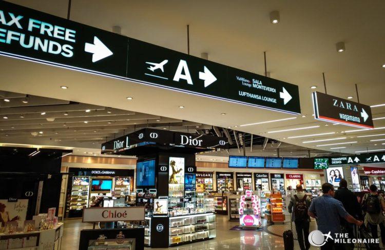 lufthansa lounge milano airport