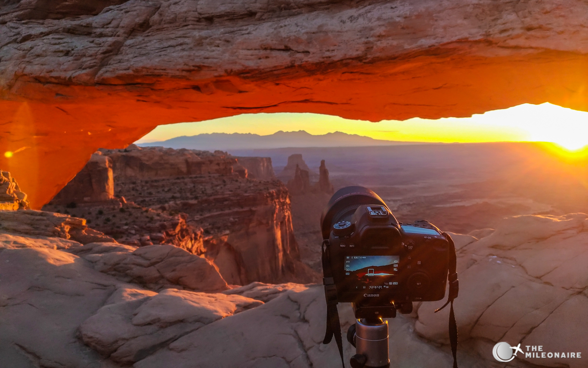 mesa arch photography guide