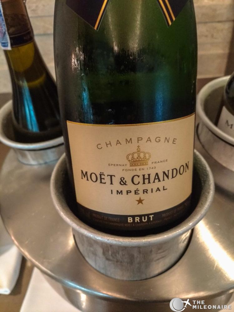 moet champagne emirates