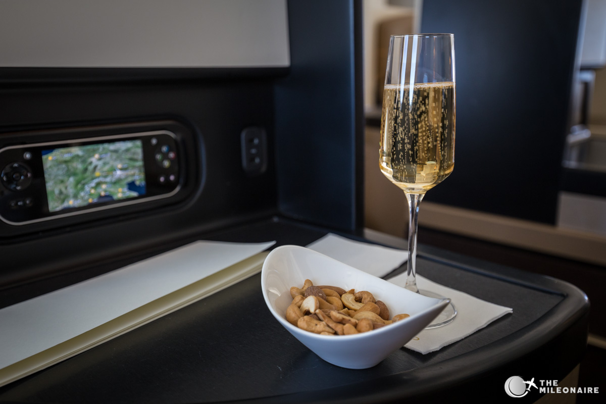 nuts etihad business class