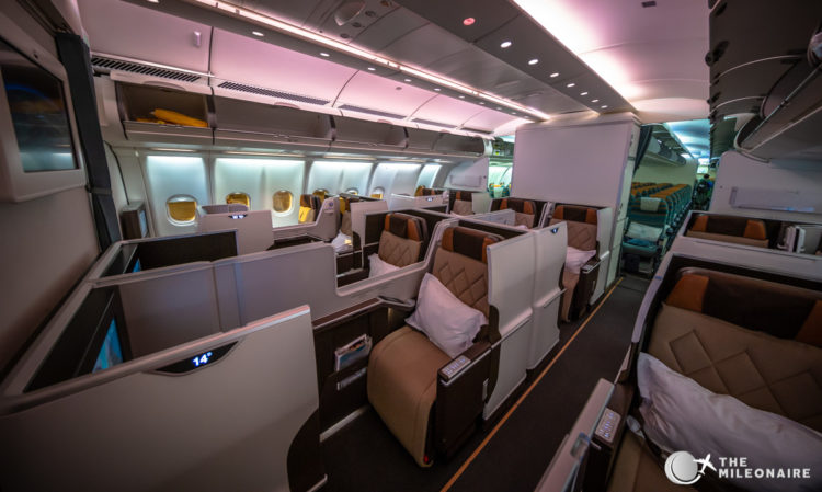 oman air a330 business class
