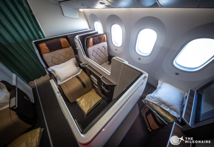 oman air business seat