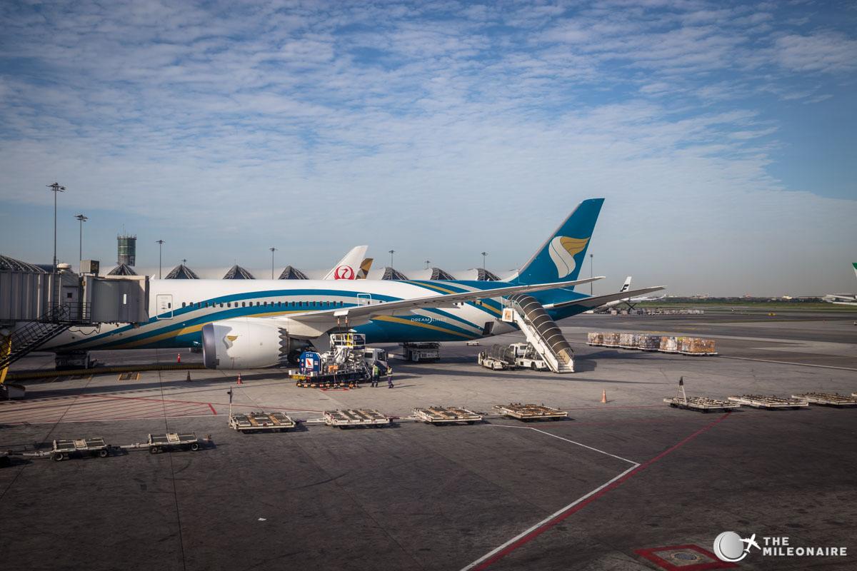 oman air dreamliner 787