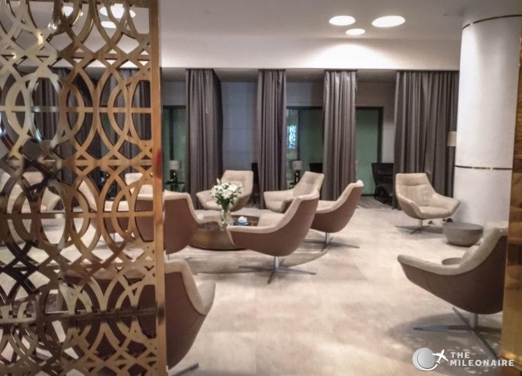 oman air first lounge