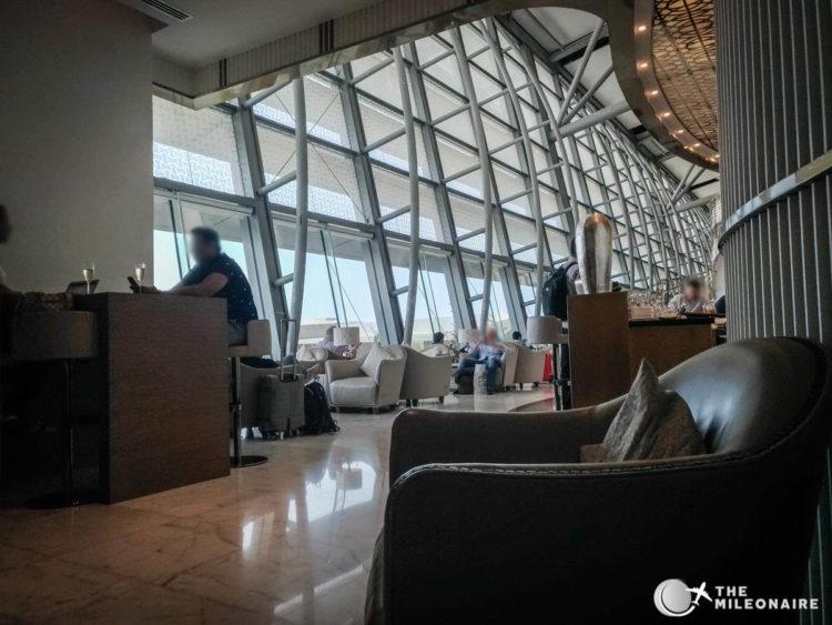 oman air lounge mct airport