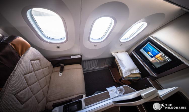 oman business class seat