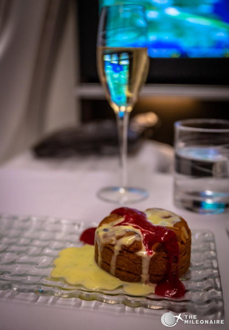 plane dessert