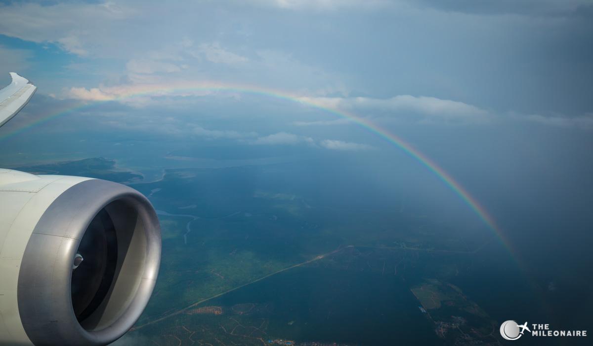 rainbow flight