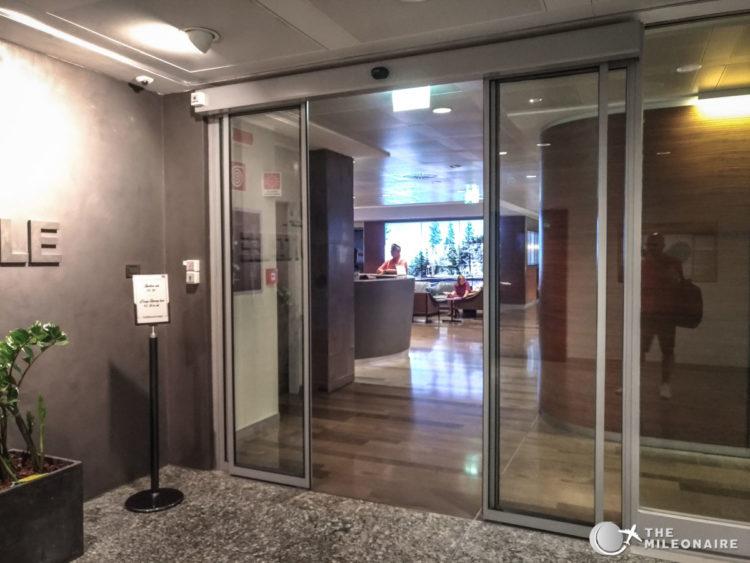 sala montale entrance