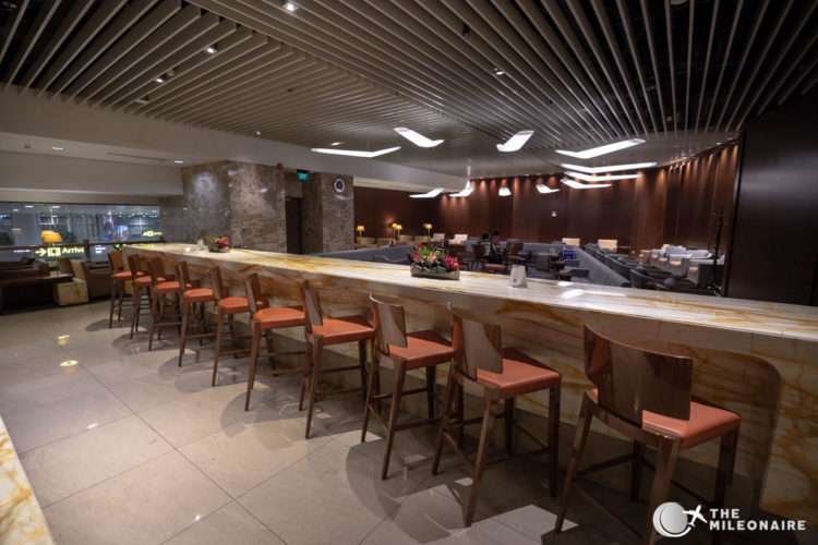 singapore airlines business lounge