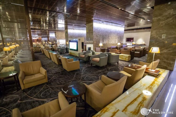 singapore airlines lounge sin