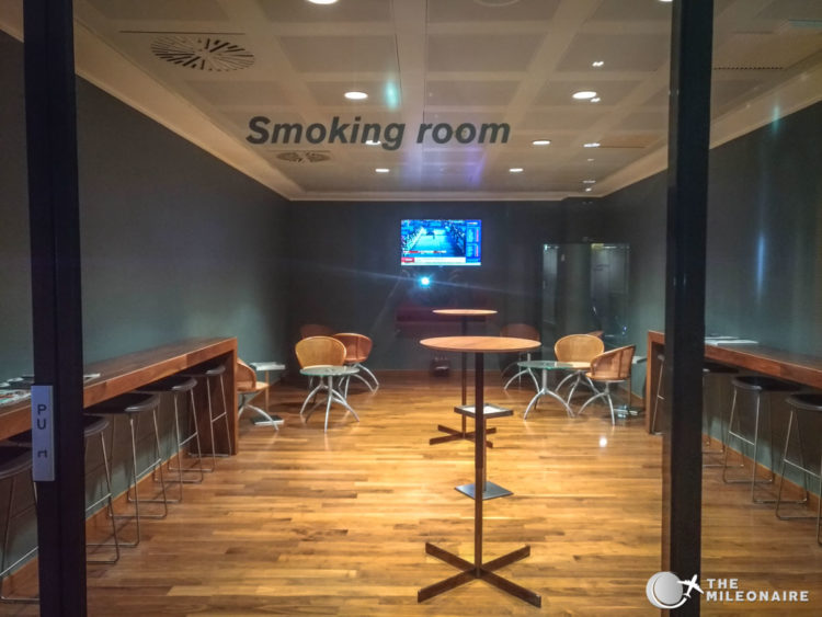 smoking room sala montale
