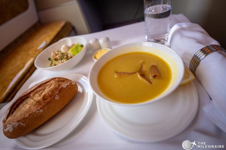 soup business class