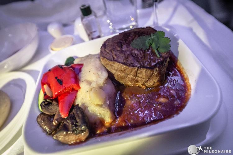 steak plane food