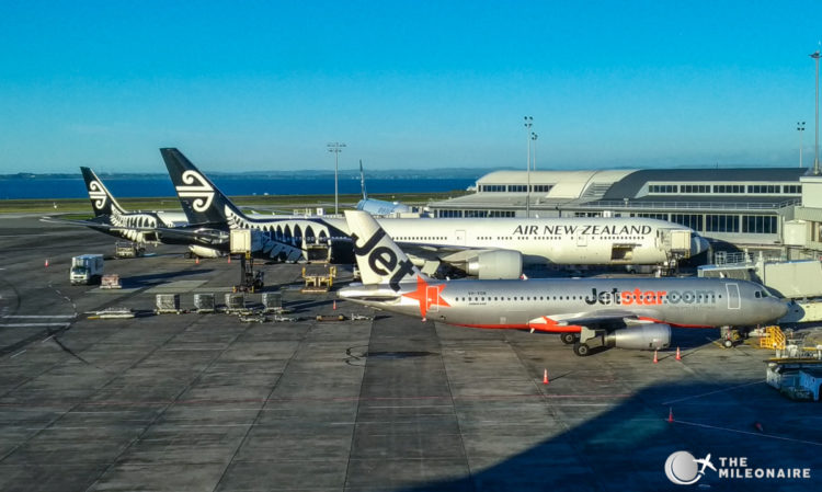 view air new zealand lounge auckland