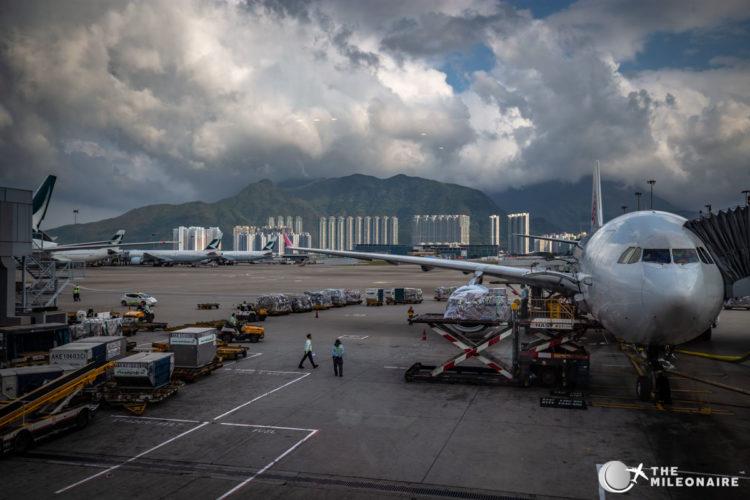 view hong kong airport