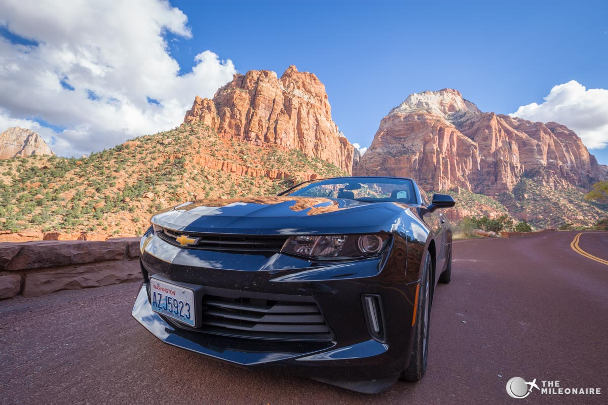 zion national park road trip