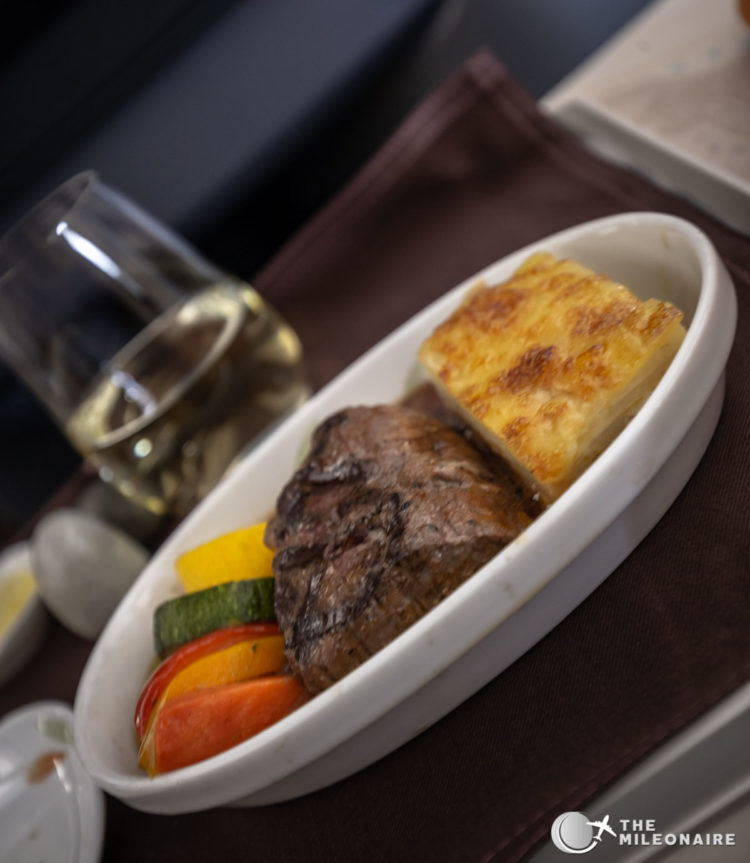 beef filet business class