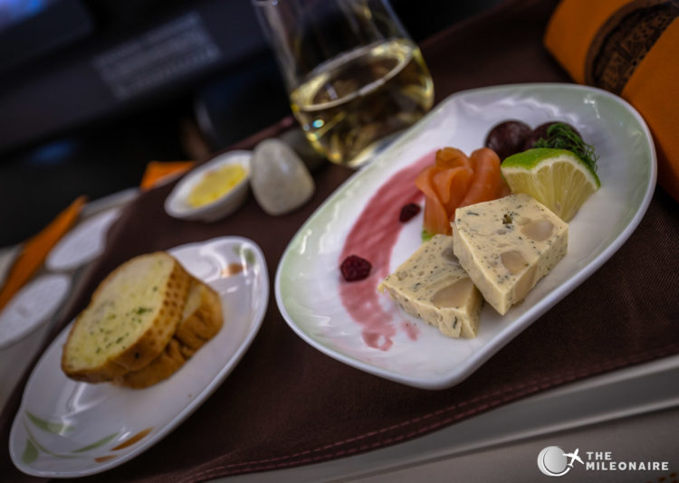eva air appetizer